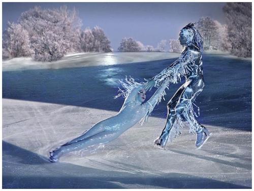 Magic ice world