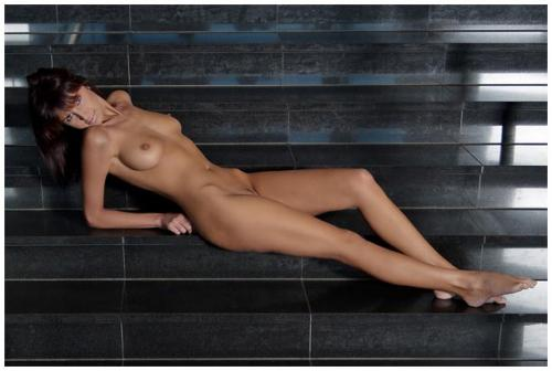 Naked On The Stairs